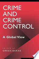 Crime And Crime Control A Global View