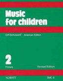 Music for Children  Primary