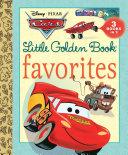 Cars Little Golden Book Favorites  Disney Pixar Cars
