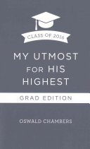 My Utmost for His Highest 2016 Grad Edition