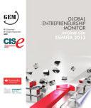 Global Entrepreneurship Monitor  Informe GEM Espa  a 2013