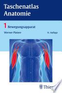 Taschenatlas Anatomie  Band 1  Bewegungsapparat