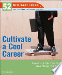 Cultivate a Cool Career