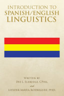 Introduction to Spanish English Linguistics