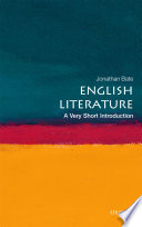 English Literature  A Very Short Introduction