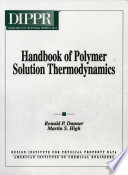 Handbook of Polymer Solution Thermodynamics