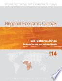 Regional Economic Outlook  April 2014  Sub Saharan Africa