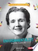 Environmentalist Rachel Carson.