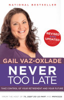 Never Too Late  Revised Edition