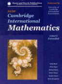 Igcse Cambridge International Mathematics 0607 Extended