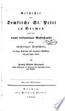 Geschichte der Domkirche St. Petri zu Bremen
