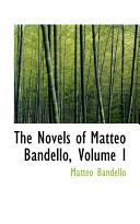 The Novels of Matteo Bandello