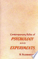 Contemporary Fields Of Psychology And Experiments book