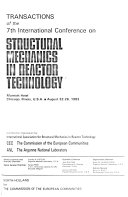 Structural Mechanics in Reactor Technology