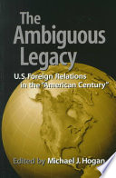 The Ambiguous Legacy