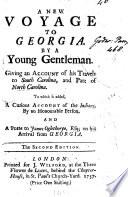 A New Voyage to Georgia