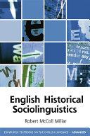 download ebook english historical sociolinguistics pdf epub