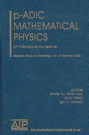 p-adic mathematical physics