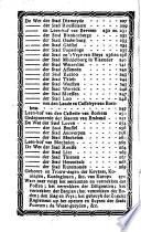 Den grooten Brugschen comptoir-almanach ...