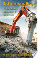 Rock Engineering Design book
