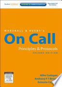 Marshall Ruedy S On Call Principles Protocols book
