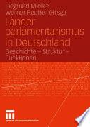 Länder-parlamentarismus in Deutschland