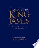 Translating for King James