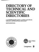 Directory of technical and scientific directories