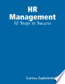 HR Management   12 Steps to Success