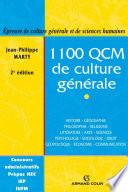 1100 QCM de culture g  n  rale