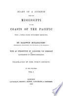 Diary of a journey from the Mississippi to the coasts of the Pacific with a United States government expedition