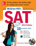 McGraw Hill s SAT with CD ROM  2014 Edition