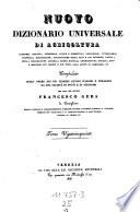 Nuovo Dizionario universale e ragionato di agricoltura ... compilato per cura di Francesco Gera