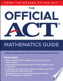 The Official Act Mathematics Guide