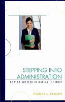 Stepping Into Administration