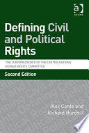 Defining Civil and Political Rights