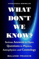 What Don't We Know? Pdf/ePub eBook
