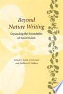 illustration du livre Beyond Nature Writing