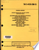 Operator  Organizational  and Direct Support Maintenance Manual