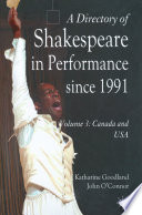 A Directory of Shakespeare in Performance Since 1991