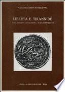 Libert   e tirannide in un discorso  siracusano  di Diodoro Siculo