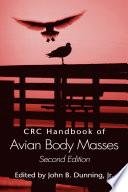 Crc Handbook Of Avian Body Masses Second Edition