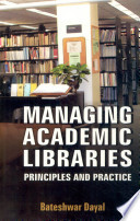 Manging Academic Libraries