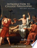 INTRODUCTION TO COLLEGE PHILOSOPHY