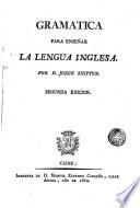 Gram  tica para ense  ar la lengua inglesa