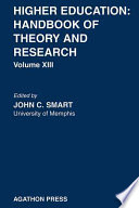 Higher Education: Handbook of Theory and Research 13