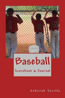 Baseball Scorebook and Journal