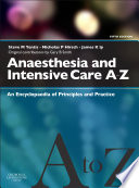 Anaesthesia and Intensive Care A Z E Book