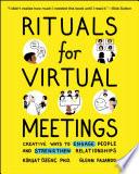 Rituals for Virtual Meetings Book PDF
