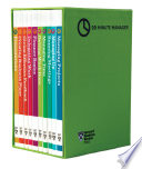 HBR 20 Minute Manager Boxed Set  10 Books   HBR 20 Minute Manager Series